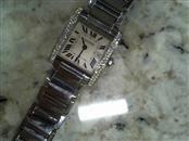 CARTIER Lady's Wristwatch TANK FRANCAISE 2465